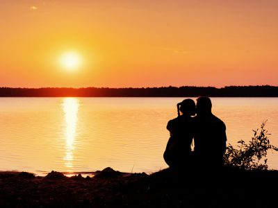 ロマンティックなキス
