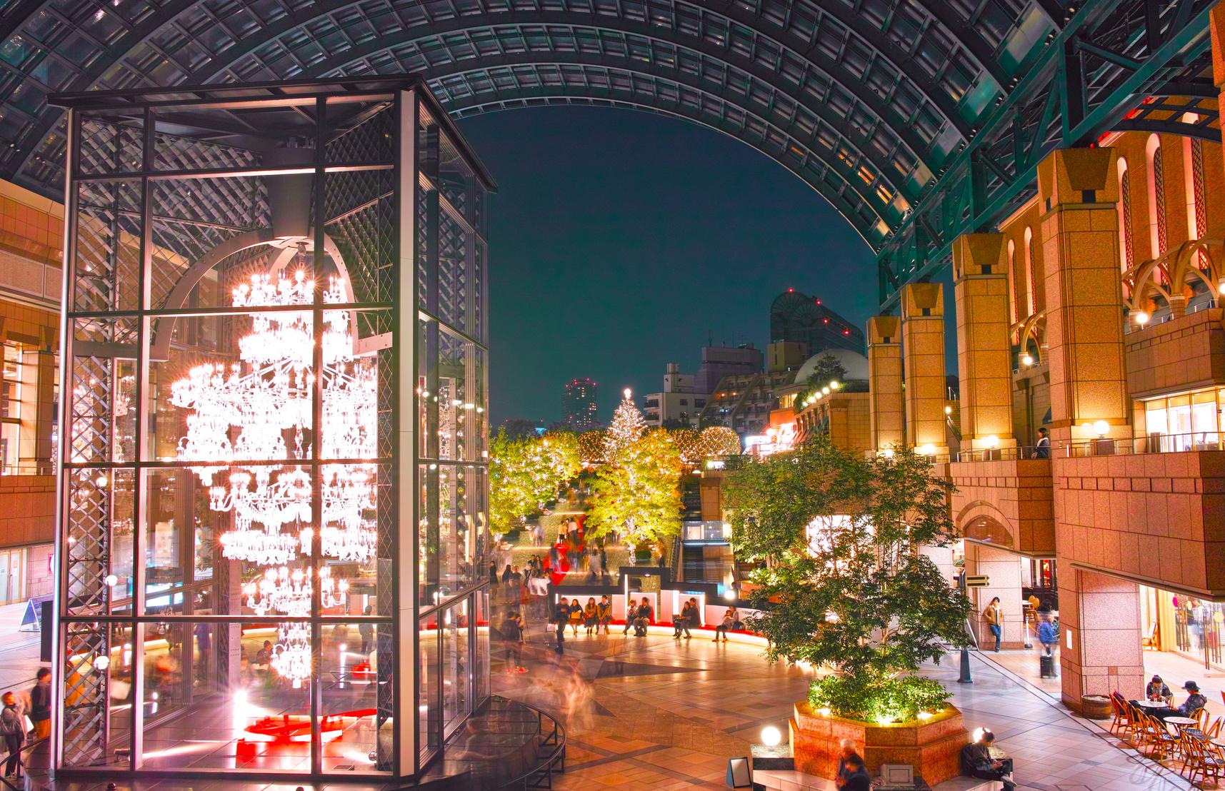 恵比寿ガーデンプレイスの夜景