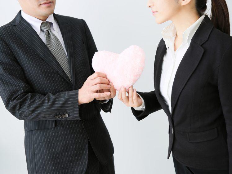 社内恋愛のイメージ