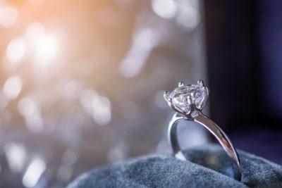 素敵なダイヤモンドリング