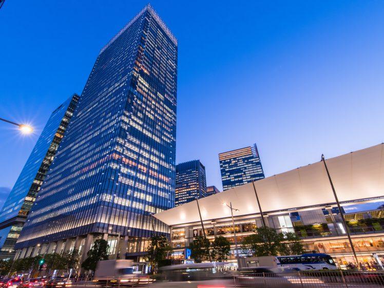 東京駅八重洲口の景色