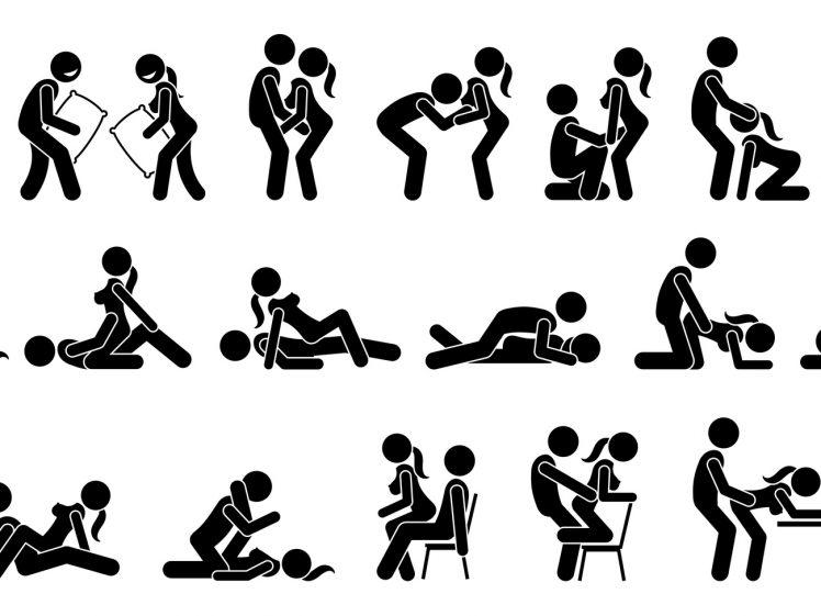 セックスの体位イラスト