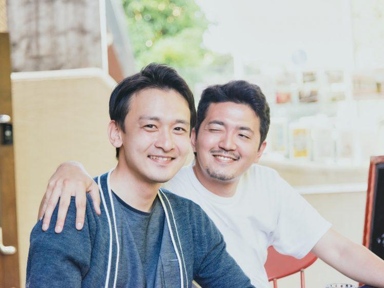 ゲイ 仲良し男性2人(同性愛・LGBT)