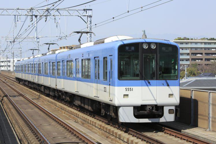 阪神5550系でかんなみ新地へ