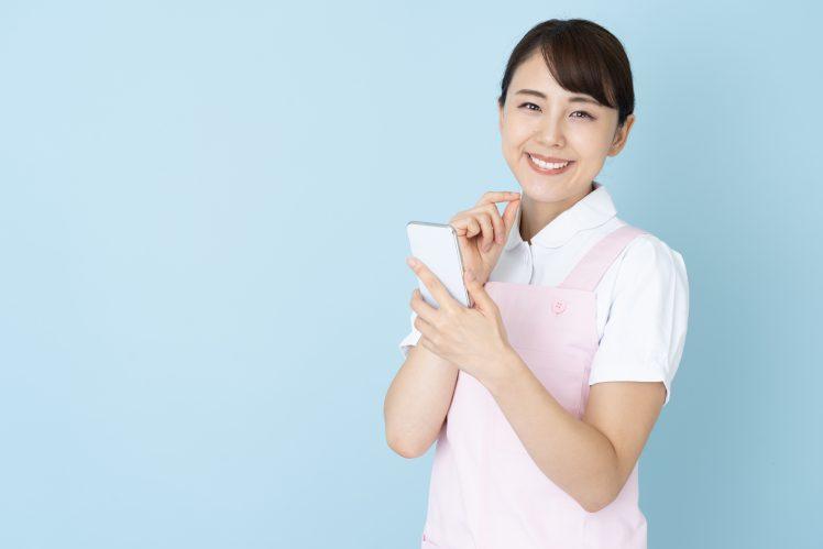 マッチングアプリを使う看護師