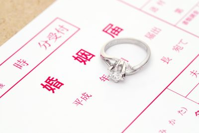 婚姻届 結婚指輪