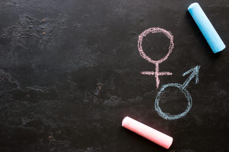 男性と女性の性感帯を探るイメージ
