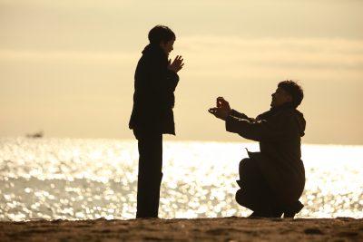 真剣交際からプロポーズした男性