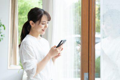 出会い系アプリを使う人妻