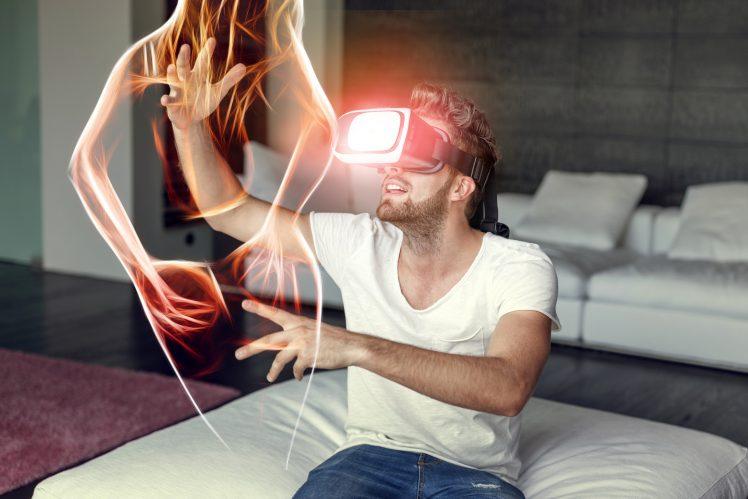 VRで擬似セックス