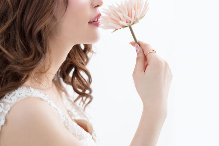 花びらを持つモテる女