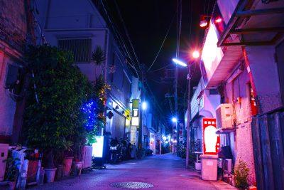 風俗店への道