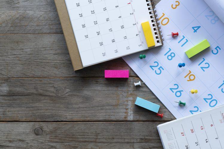 デートの日、回数をカレンダーに記録