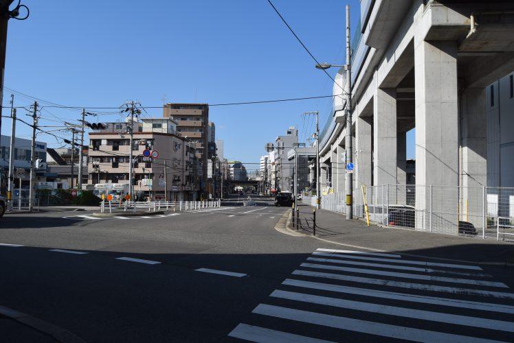大阪府西区 松島新地のある街
