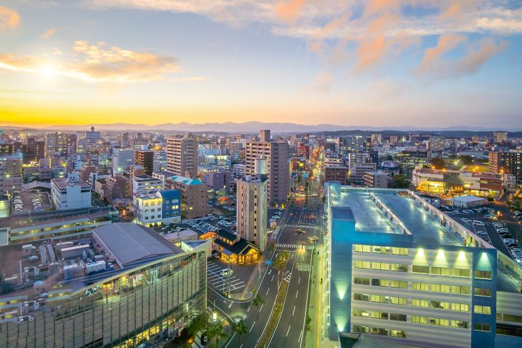 宮崎市 歓楽街ニシタチのある街